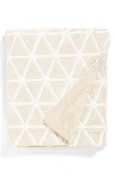 geo plush throw / nordstrom