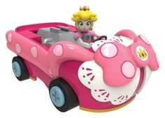 NEW KNEX Nintendo Mario Kart 7 Princess Peach Pullback Birthday Girl Kart #KNEX