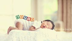 Baby Name with Blocks