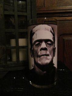 Frankenstein Candleholder by wmerchantile on Etsy