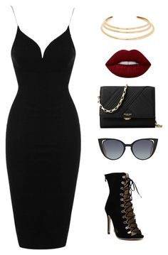 """""""classy but just a lil trashy"""" by maritzawaffles on Polyvore featuring Topshop, Kenneth Jay Lane, Lime Crime, Michael Kors and Fendi"""