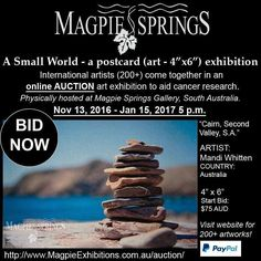 ..ART LOVERS.. Come out - come out - where ever you are!!!! We NEED you!!!! Online auction / finishes 15th Jan........COME SEE the originals exhibition in South Australia Magpie Springs!! Proceeds for Cancer Research #art #drawn #instartist #art  #painting #oilpainting  #artsy #beautiful #instaartist #artoftheday #artist #artcollector #exhibition #gallery #australianart #australianartist #originalart #decorator #artstudio #artlife #fineart #artnews #internationalartist #australianartist…