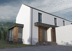 1000 images about contemporary dwelling designs on for Modern house design northern ireland