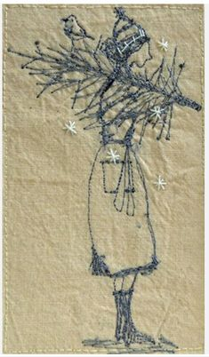 Betty Ponders Christmas******** Embroidery by Michelle Holmes