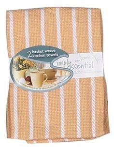 Kay Dee Design 2 Basket Weave Kitchen Dish Towel