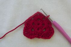 With Valentine's Day just a couple weeks away, I thought it would be fun to post a quick heart tutorial! This heart is pretty easy and fast; the first two rounds of this heart are just a simple granny square! To start, chain 5 and join to form a ring. Round 1: 1. Chain 3 … … Continue reading →