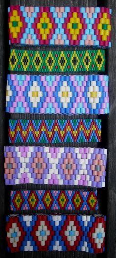 Bracelets hama beads by Nancy Williams