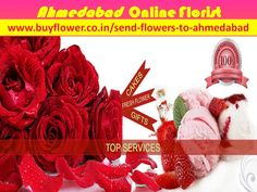 We are the best Ahmedabad Online Florist in all over the India and the world also. We are 24x7 hours available for send flowers to Ahmedabad and all over the india in all events and occassions. Ahmedabad Online Florist is the best online florist in the world. http://www.buyflower.co.in/send-flowers-to-ahmedabad