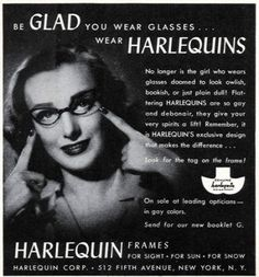Another American icon, Circa 1934 in New York, while working as a display designer, Altina Schinasi imagined spectacles for women. After many drawings and concepts Altina introduced her invention to the world. Not only did she invent the cateye; but this was the first time men's and women's spectacles were categorized. Thus, the birth of fashion eyewear