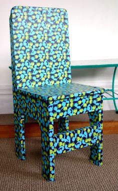 Create Hope Inspire: decoupage furniture - child's cute desk chair