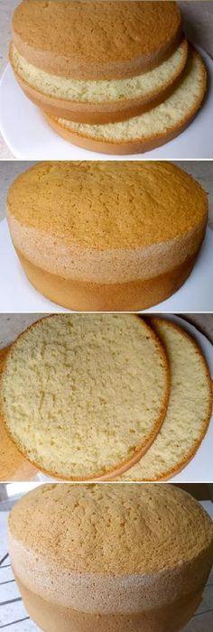 Te queda genial Lo Mejor BIZCOCHO ESPONJOSO BÁSICO. Cómo conseguir un bizcocho QUE SUBA PERFECTO y quede muy esponjoso! #bizcochoesponjoso #bizcochobasico #bizcochoperfecto #genial #comoconseguir #comohacer #lomejor #vainilla #limón #frutas #basico #facil #postres #cheesecake #cakes #pan #panfrances #panettone #panes #pantone #pan #recetas #recipe #casero #torta #tartas #pastel #nestlecocina #bizcocho #bizcochuelo #tasty #cocina #chocolate #navidad Si te gusta dinos HOLA y dale a Me Gusta... Chocolate Navidad, Plum Cake, Pan Dulce, Baking Tips, Cakes And More, No Bake Desserts, Coffee Cake, No Bake Cake, Amazing Cakes