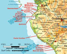 Surfing Sayulita Mexico - Wave Forecast, Surf Report and Information courtesy Casa Buena Onda - Sayulita Surf Hotel