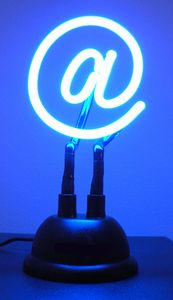 Incredible Blow-Out Price! Save $5 This Week Only! Buy The USB Powered Neon @ Sign For Your Home Or Office. Makes A Great Gift For That Computer Nerd.  $29.95