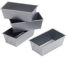 Calphalon Commercial Bakeware Mini Loaf Pans, Set of 4
