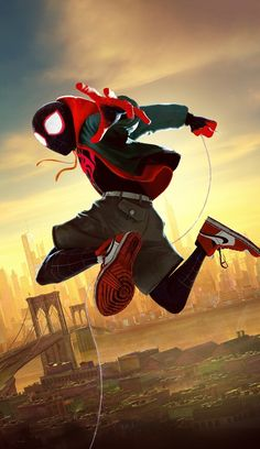 🎈 Oscar / SPIDERMAN - in to spider verse ( nominee Best Animated Feature ) by Peter Ramsay & Chris ( Ms Marvel, Marvel Comics, Marvel Art, Marvel Heroes, Marvel Avengers, Amazing Spiderman, Spiderman Kunst, Spiderman Spider, Man Wallpaper