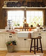 If you are one of the people who love rustic also want to change your kitchen style then this article is for you!Take a look at this 15 Ideas of stunning rustic kitchen design. Farm Kitchen Ideas, Country Farm Kitchen, Small Country Kitchens, Cottage Kitchen Decor, Cottage Kitchens, Diy Kitchen Decor, Modern Farmhouse Kitchens, Home Decor, Vintage Farmhouse