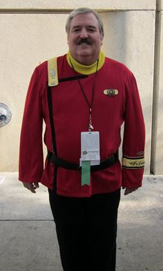 Sometimes it is the actor that makes the Cosplay. This guy is a dead ringer for Scotty.