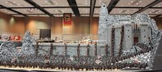 This Could Quite Possibly Be The Most Epic Lego Creation Ever - Lego Helm's Deep from Lord of the Rings with 150,000 bricks and 1,700 figures.  Sweet!