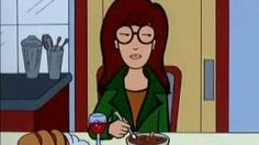 Daria sooo edgy (clip), via YouTube.