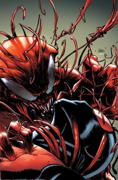 Scarlet Spider and Venom are at the will of a madman in the Microverse! But Scarlet Spider must first face the monster within before he can fight Carnage! Meanwhile, Venom takes on a new mission -- and the cost may be more than just his life! Comic Book Characters, Marvel Characters, Comic Books Art, Comic Art, Book Art, Comic Pics, Marvel Venom, Marvel Comics, Marvel Fan
