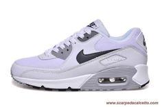 size 40 3dab8 33ab9 Nike Air Max 90 Bianco Gray scarpe da calcio online Air Max Thea, Air Max