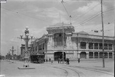 Estacion de ferrocarriles del sur al lado de la estacion de la sabana eliminada para dar paso a la av jimenez