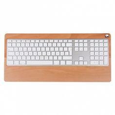 Supporto in faggio per tastiera Apple con cavo