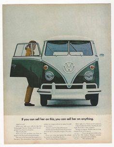 Publicité Volkswagen 1965 - Vintage Automobile Dealerships and Automobilia.