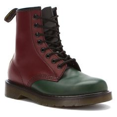 Dr. Martens  Women's 1460 Red Green Yellow Ankle Boots ALL SIZES!!!
