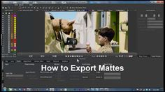 In this quick video, Mary Poplin of Imagineer Systems goes over how to export and import rendered mattes in mocha.   All versions of mocha can import externally…