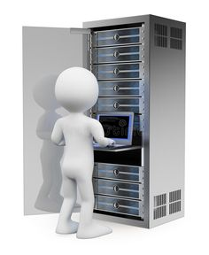 Illustration about white people. Engineer in rack network server room working with a laptop. Illustration of datacenter, firewall, data - 34137070 Network Rack, 3d Human, Sculpture Lessons, Server Room, 3d Icons, Construction Services, White People, White Man, Engineering