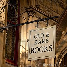old & rare books