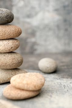 neutral tone stones