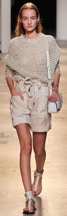 Isabel Marant Spring 2015. Casual.