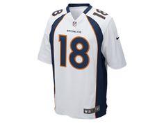 NFL Denver Broncos (Peyton Manning) Kids' Football Away Game Jersey