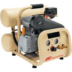 FREE SHIPPING — Ingersoll Rand Twin-Stack Air Compressor — 2 HP, 4-Gallon Capacity, Model# P1IU-A9