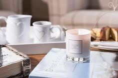 """SCOTTIE & RUSSELL (@scottieandrussell) on Instagram: """"Our beautiful fragranced candles are available in store or online at www.scottieandrussell.co.uk…"""" Scottie, Baby Gifts, Unique Gifts, Fragrance, Candles, Store, Tableware, Beautiful, Instagram"""