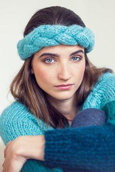 Absolut im Trend: Kostenlose Anleitung für Sweater, Stirnband und Stulpen - Initiative Handarbeit
