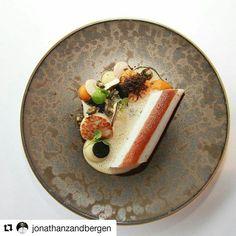 Repost @jonathanzandbergen ・・・ Classic Poached dover sole with pâte vinennoisse, scallops, hempcouscous, topinambour amd tosasu-cepmushroomsauce  #food #foodporn #foodie #foodgasm #foodstagram #foodgram #instafood #foodpics #foodpic #gastronomia #gastronomy #gourmet #gastropost #gastroart #art #plating #finedining #luxury #delicious #yummy #instagood #culinary #igers #chef #finedining #dining #instahub #foodart #followme #foodartist #scallops