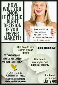 Affiliate marketing can be a pretty exciting business move if you know what you can expect. Forever Living Business, Forever Living Aloe Vera, Business Poster, Home Based Business Opportunities, Open Minded, Forever Living Products, World Leaders, My Forever, Way Of Life
