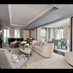Beautiful and elegant!... - Interior Design Ideas, Interior Decor and Designs, Home Design Inspiration, Room Design Ideas, Interior Decorating, Furniture And Accessories