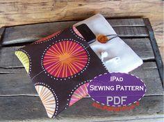iPad Sleeve PDF SEWING PATTERN - diy tutorial for ipad or tablet
