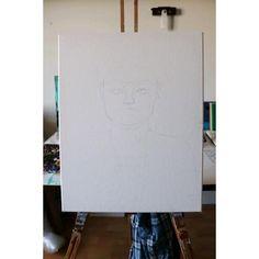 Progress video of Frida Kahlo Painting Videos, Frida Kahlo