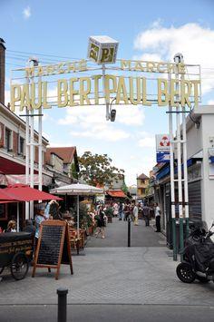 I want to go to this Paris flea market