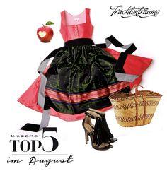 Dirndl & Schürze TRACHTENTRÄUME // Basket plaisirs de france // Shoes Buffalo // Apple Bavaria  www.trachtentraeume.de