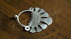 Novidade em fase de produção... Viatichian seven-bladed temple rings adaptados como brincos... Vão ficar lindões depois de prontos e polidos!!!!