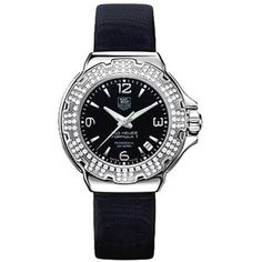 TAG Heuer Women`s WAC1214.FC6218 Formula 1 Glamour Diamond Accented Watch - List price: $2,900.00 Price: $2,100.00