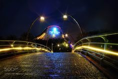 night bridge by LiudmilaD #architecture #building #architexture #city #buildings #skyscraper #urban #design #minimal #cities #town #street #art #arts #architecturelovers #abstract #photooftheday #amazing #picoftheday