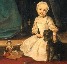 18th century children with dolls | 18th Century Childhood & Family