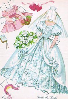 Paper Dolls~Heres The Bride - Bonnie Jones - Picasa Albums Web